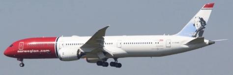 Norweigian 787